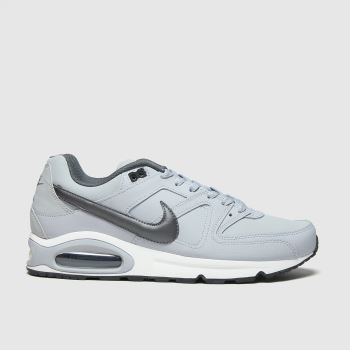 Nike Light Grey Air Max Command Mens Trainers