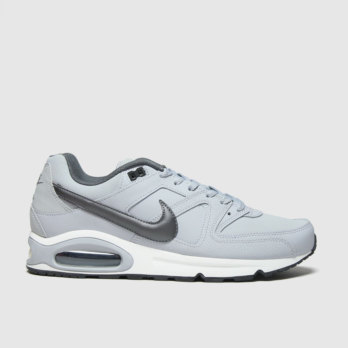 Nike Light Grey Air Max Command Trainers