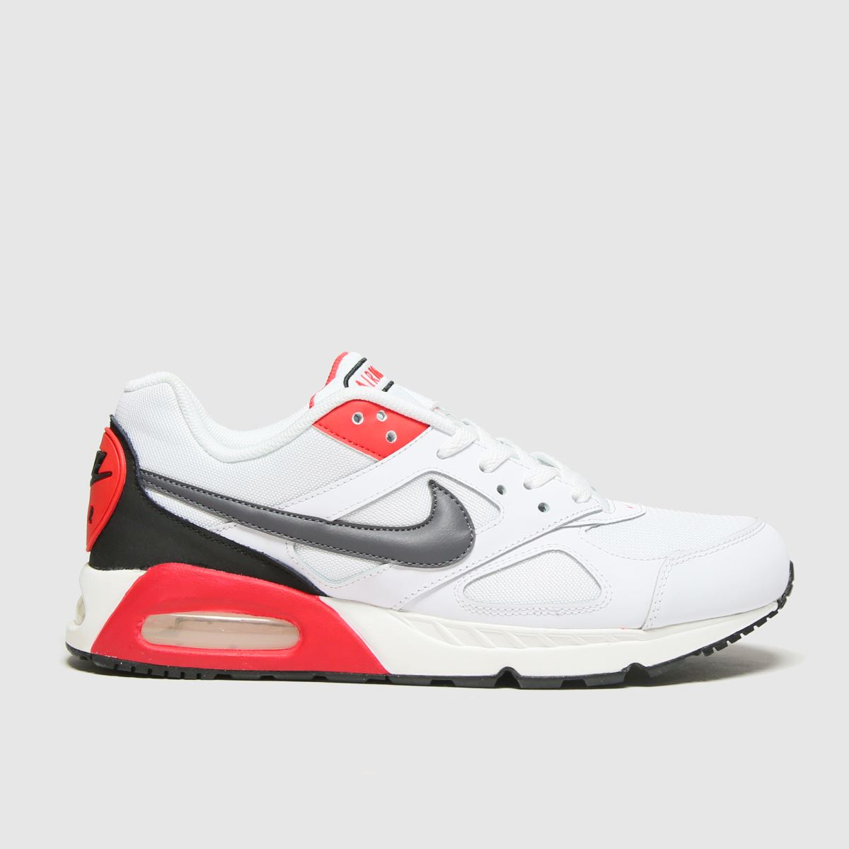 Nike White & Grey Air Max Ivo Trainers