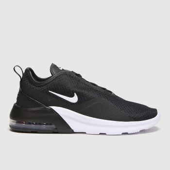 Nike Black & White Air Max Motion Mens Trainers#