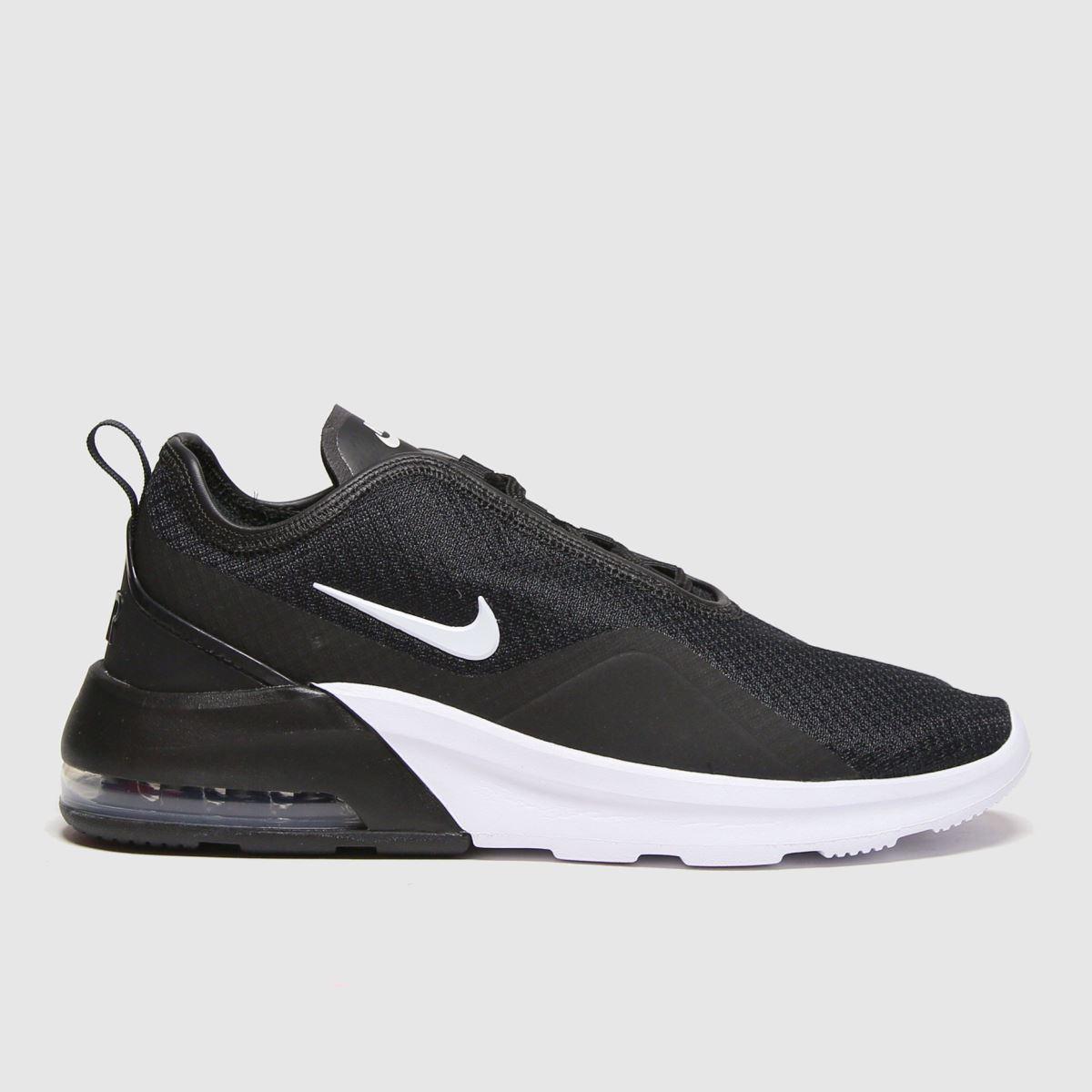 Nike Black & White Air Max Motion Trainers