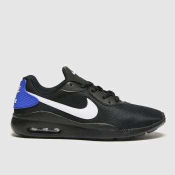 Nike Black and blue Air Max Oketo Mens Trainers