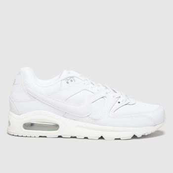 Nike White Air Max Command Mens Trainers
