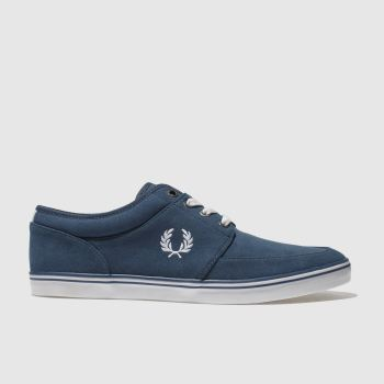 Fred Perry Blue Stratford Mens Trainers
