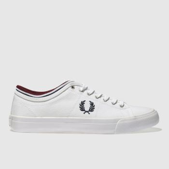 Fred Perry White Kendrick Tipp Mens Trainers