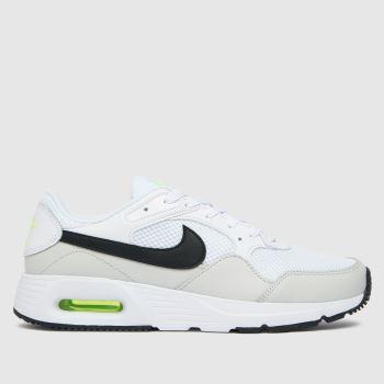 Nike White & Black Air Max Sc Mens Trainers