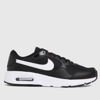 Nike Black & White Air Max Sc Mens Trainers