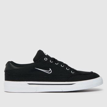 Nike Black & White Retro Gts Mens Trainers