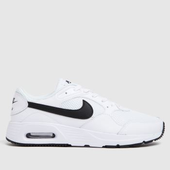 Nike White & Black Air Max Sc Mens Trainers