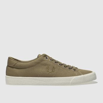Fred Perry Tan Underspin Mens Trainers