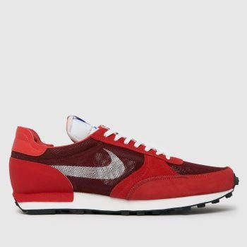 Nike Red Dbreak-type Mens Trainers