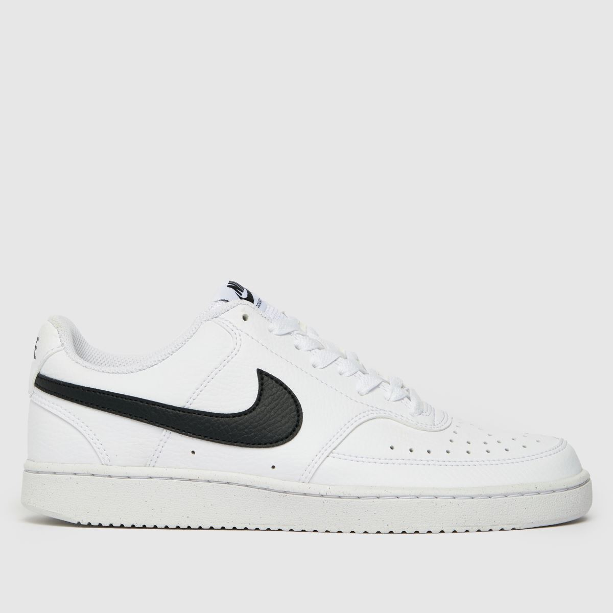 Nike White & Black Court Vision Low Better Trainers