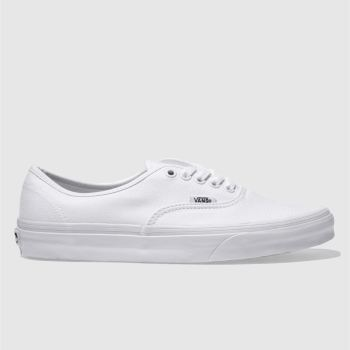 Vans White Authentic Trainers