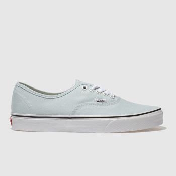 Vans Pale Blue Authentic Mens Trainers
