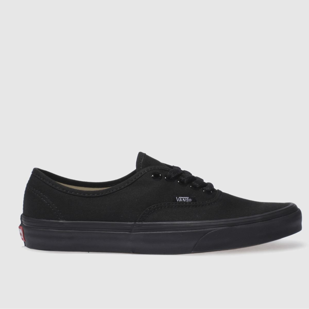 Click to view product details and reviews for Vans Black Authentic Trainers.