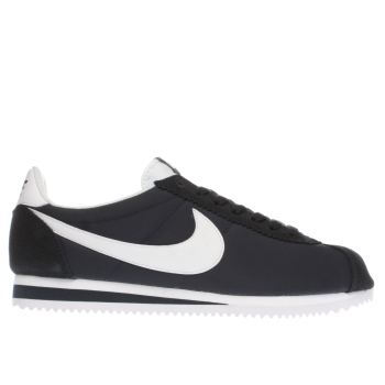 NIKE NAVY & WHITE CLASSIC CORTEZ TRAINERS