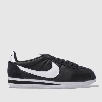 check out fba85 6a838 mens black & white nike classic cortez trainers | schuh