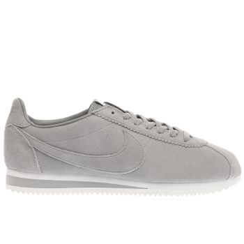 Nike Grey Classic Cortez Se Mens Trainers
