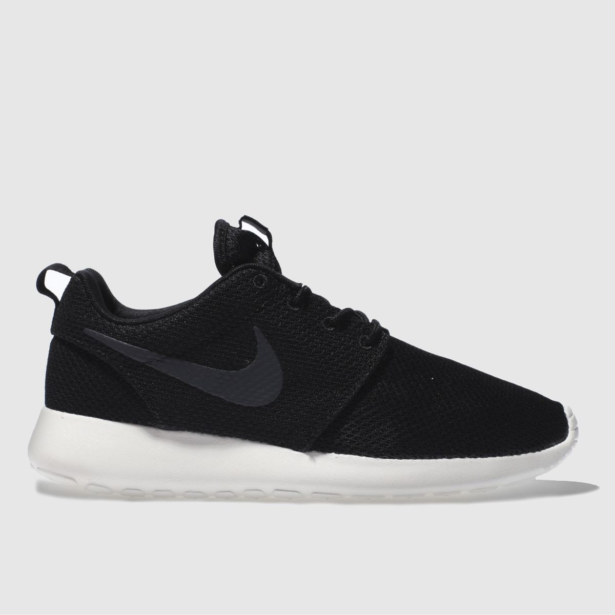sale retailer 85580 5d274 Nike Men s Roshe Run Casual Shoes, Black White - 9.0