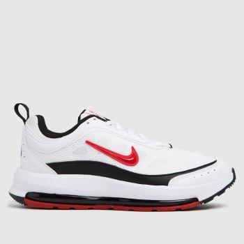 Nike White & Red Air Max Ap Mens Trainers