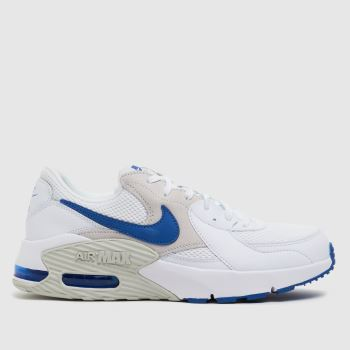 Nike White & Blue Air Max Excee Mens Trainers