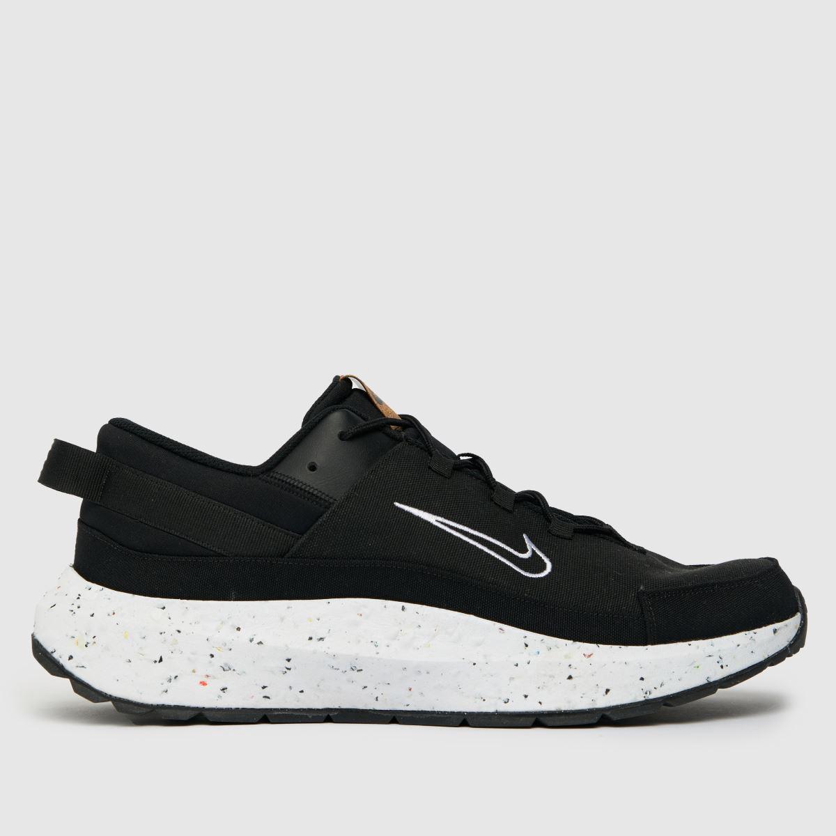 Nike Black & White Crate Remixa Trainers
