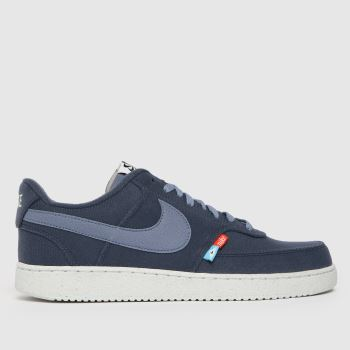 Nike Blue Court Vision Low Next N Mens Trainers