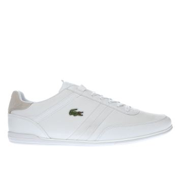 LACOSTE WHITE GIRON 416 1 TRAINERS