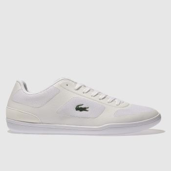 LACOSTE WHITE COURT MINIMAL 316 TRAINERS
