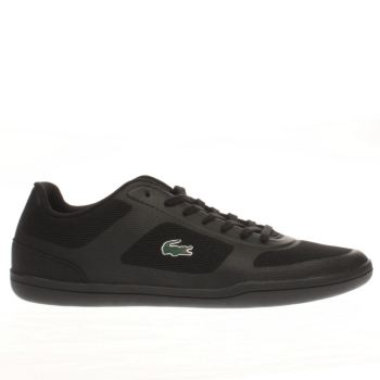 Lacoste Black Court Minimal 316 Mens Trainers