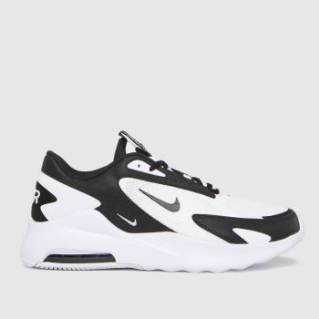 Nike White & Black Air Max Bolt Mens Trainers