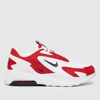Nike Weiß-Rot Air Max Bolt Herren Sneaker