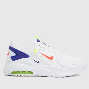 Nike White & Blue Air Max Bolt Mens Trainers