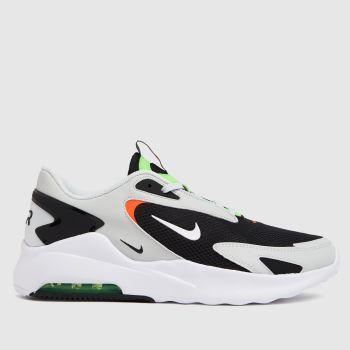 Nike Black & Green Air Max Bolt Mens Trainers