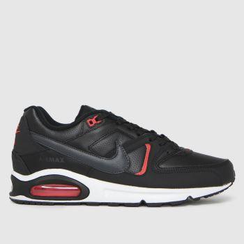 Nike Black Air Max Command Mens Trainers