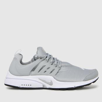 Nike Light Grey Air Presto Mens Trainers