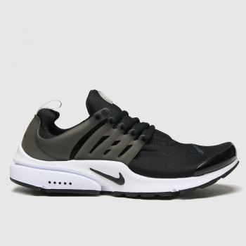 Nike Black & White Air Presto Mens Trainers