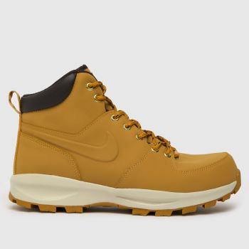 Nike Tan Manoa Leather Mens Boots