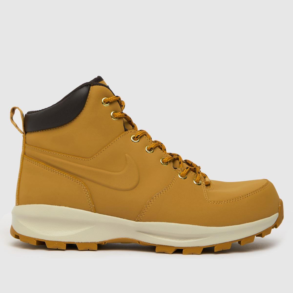 Nike Tan Manoa Leather Boots