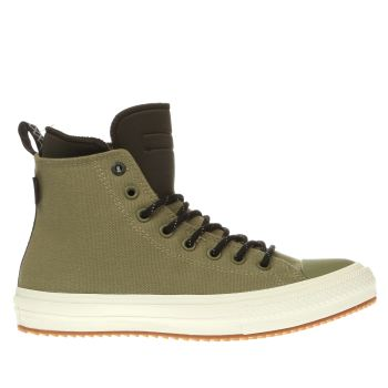 CONVERSE KHAKI ALL STAR II BOOT SHIELD TRAINERS