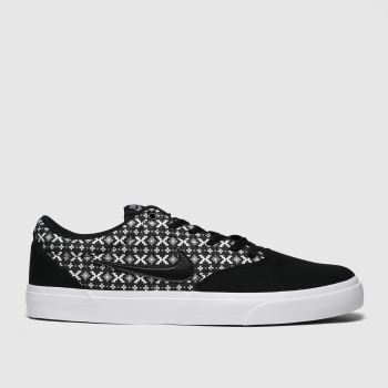 Nike Sb Black & White Charge Mens Trainers