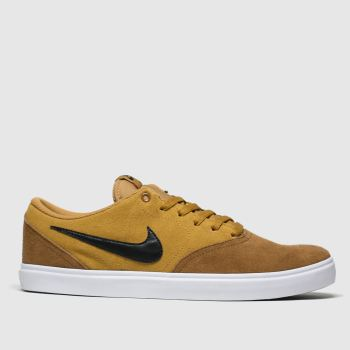 Nike Sb Tan Check Solarsoft Mens Trainers