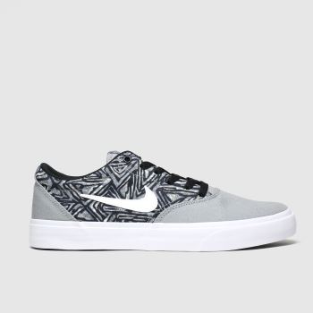 Nike Sb Black & Grey Charge Premium c2namevalue::Mens Trainers#promobundlepennant::£5 OFF BAGS
