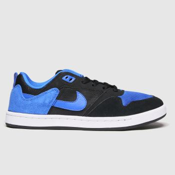 Nike SB Black and blue Sb Alleyoop Mens Trainers