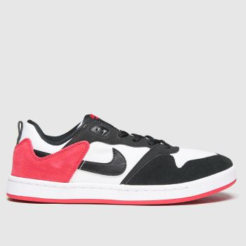 Nike SB Black & Red Sb Alleyoop Mens Trainers