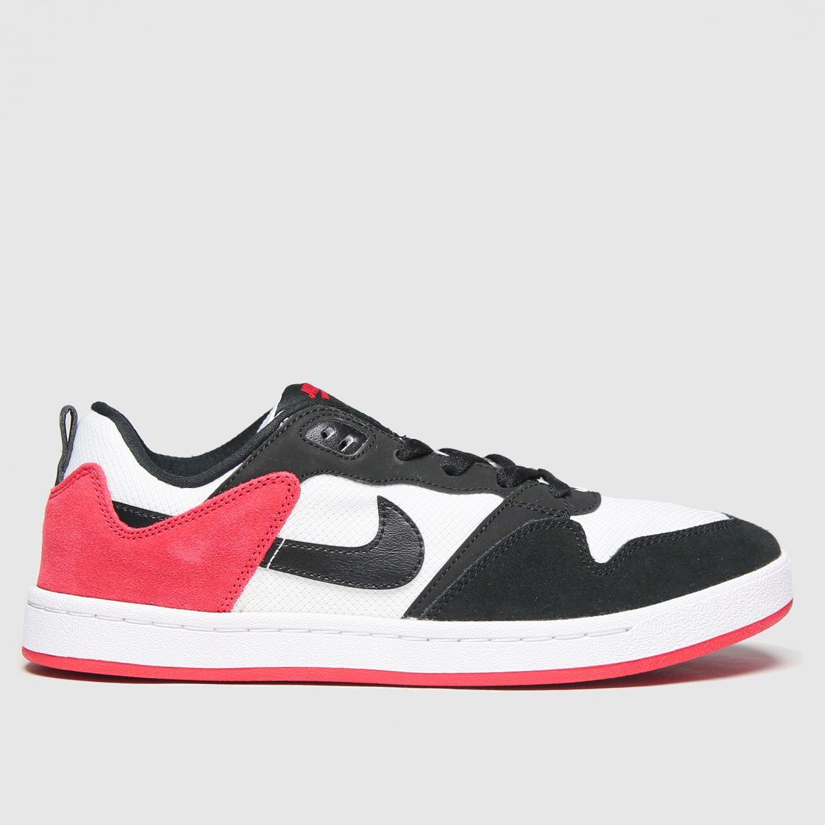 Nike SB Nike SB Black & Red Sb Alleyoop Trainers