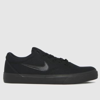 Nike Black Sb Charge Mens Trainers