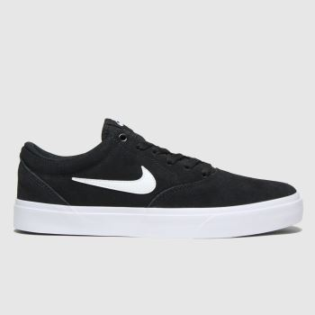 Nike Sb Black & White Charge c2namevalue::Mens Trainers#promobundlepennant::£5 OFF BAGS