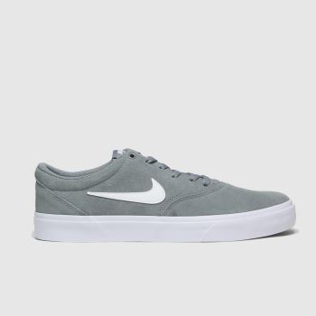 Nike SB Grey Sb Charge Mens Trainers
