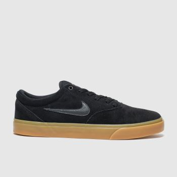 Nike Sb Black & Brown Sb Charge Mens Trainers#